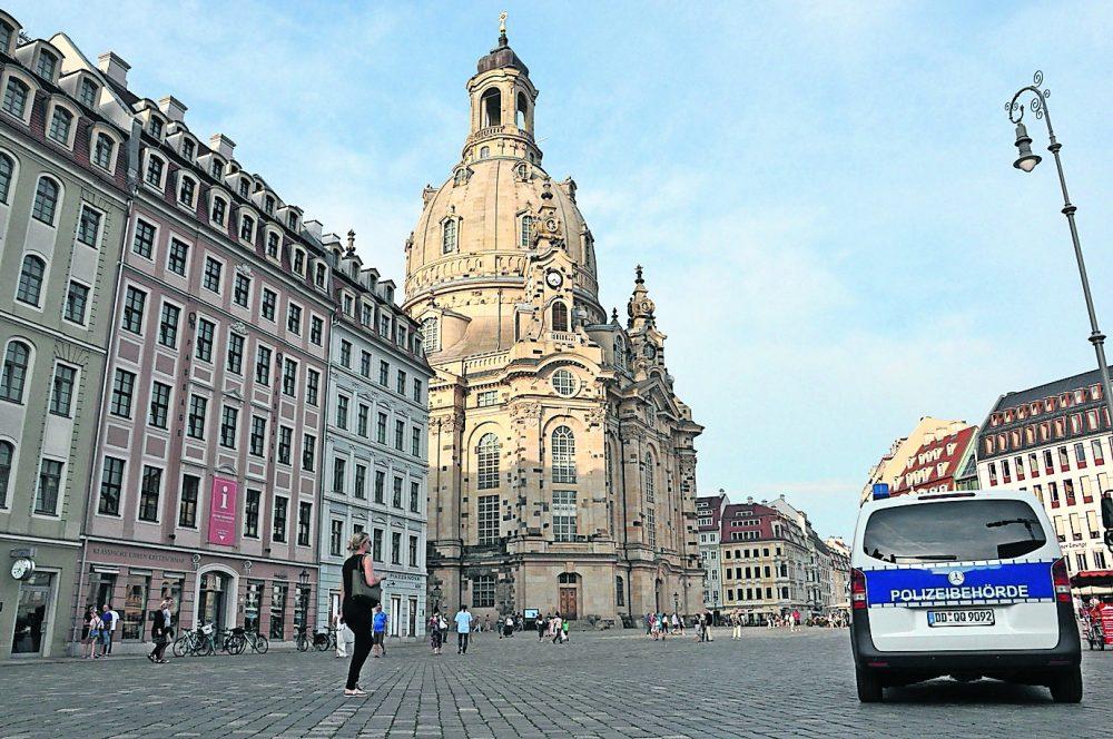 Sicherheit für Innenstadtplätze in Dresden