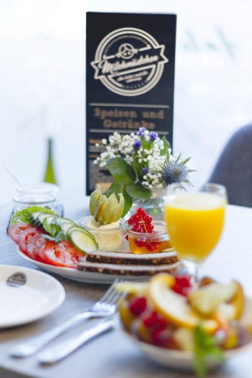Im Café Milchmädchen in Dresden Gruna kann man auch leckere Frühstücksangebote bestellen (Foto: Christian Chalupka)