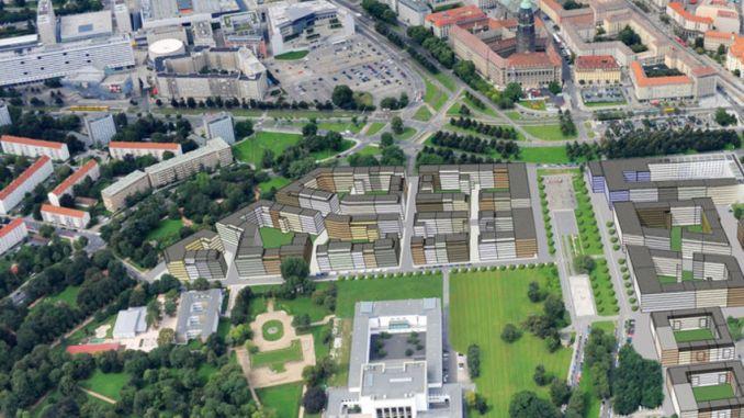 """Der Dresdner Stadtrat hat Ende Juni den Bebauungsplan für das Projekt """"Lingner Altstadtgarten"""" einstimmig freigemacht. Foto: PR"""