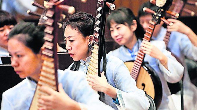 Besuch aus Fernost: Zum großen chinesischen Neujahrskonzert am 3. Februar erklingen allerlei exotische Instrumente aus dem Reich der Mitte. Foto: Wu Promotion