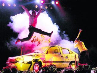 AUTOAUTO! ist ein Konzert, eine Performance und vor allem ein furioses Klangfeuerwerk. Foto: PR