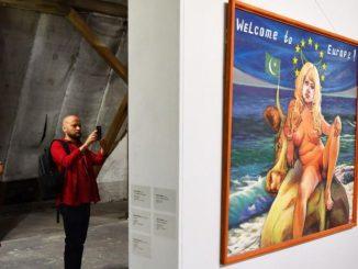 Eindruck der vergangenen Kunstausstellung Ostrale in Dresden. (Foto: PR)
