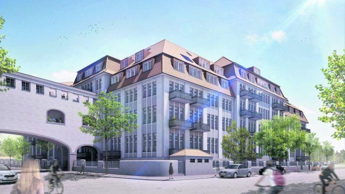 Historische Tabakfabrik Striesen. (Foto: Visualisierung: Viarealis GmbH)