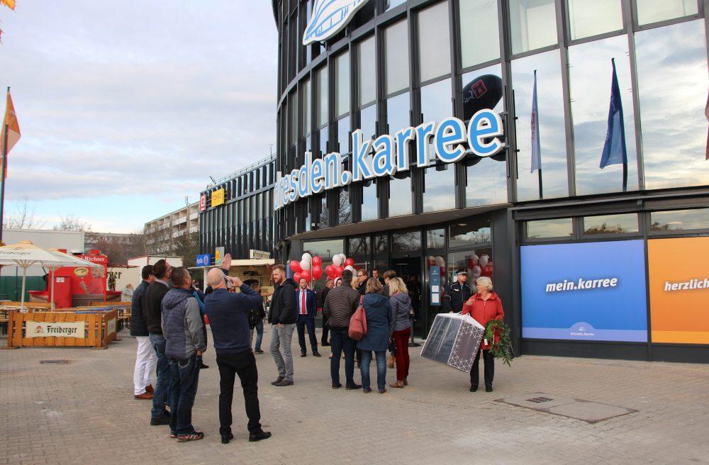Dresden-Karree feierlich eröffnet