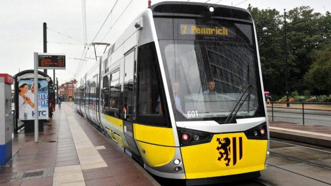 Die Straßenbahn fährt in Dresden im Minutentakt und ist bei den Dresdnern sehr beliebt. (Foto: DVB)