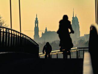 In diesen Tagen werden die Weichen für den Radverkehr der Zukunft in Dresden gelegt.