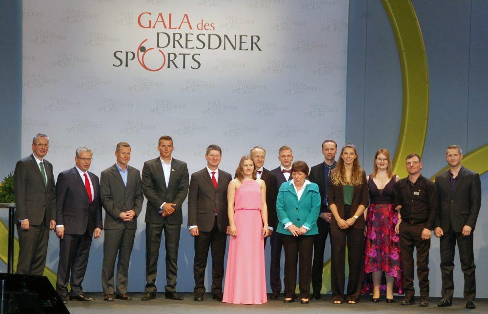 Dresden ehrt seine Athleten