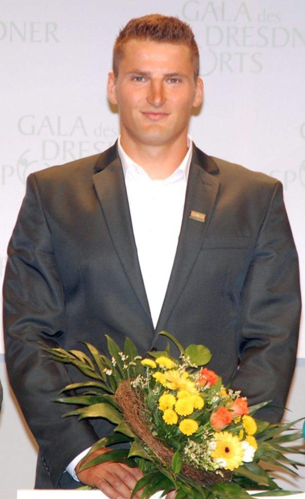 Bei den Männern ging der Titel wie im Vorjahr an Kanu-Olympiasieger Tom Liebscher. Foto: ekg