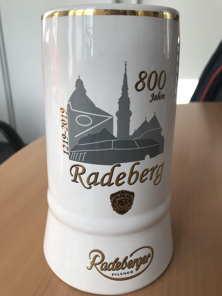 Radeberger Jubiläumskrug