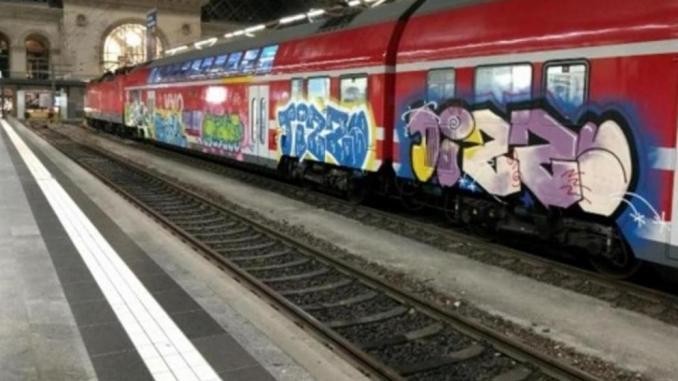 Graffiti Dresden Polizei