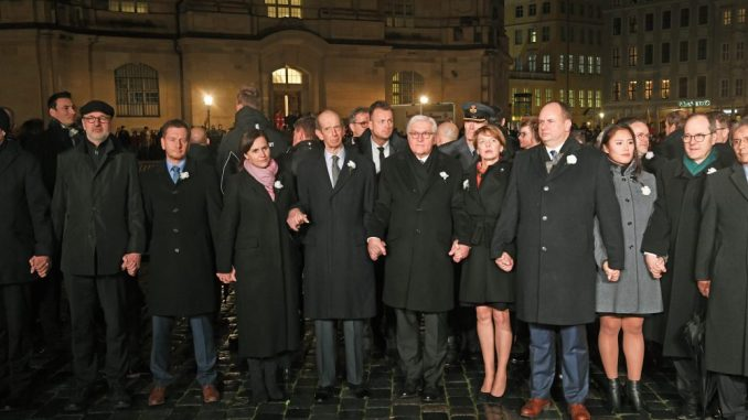Menschenkette 13. Februar Dresden