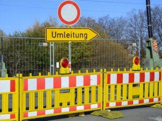 Umleitung Dresden