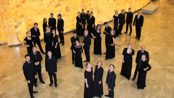 Das Junge Ensemble Dresden lädt zu Jubiläumskonzerten am 25. Oktober in die Annenkirche Dresden. Foto: PR