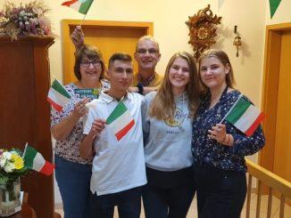 Familie von Havranek mit Lorenzo