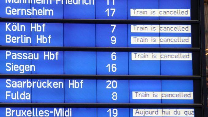 GDL ruft zu Demo am Hauptbahnhof Dresden auf