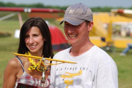 2012 Flour Bomb Drop Winners - Tom and Alicia