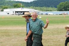 A very happy airshow participant