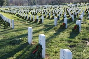 Wreaths at Arlington