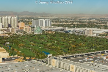 View of the Wynn golf course