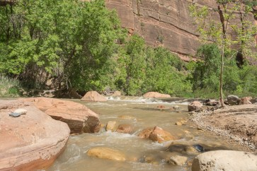 Rapid waters in the Narrows