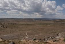 Looking across Rabbit Valley