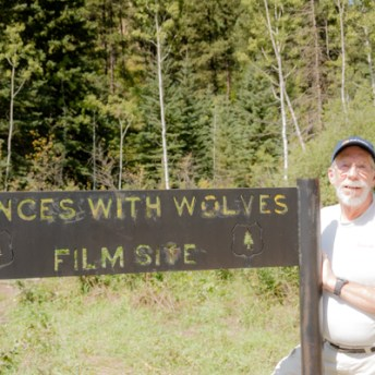 Way out in the woods, we stumble over this sign. There is nothing else here though.