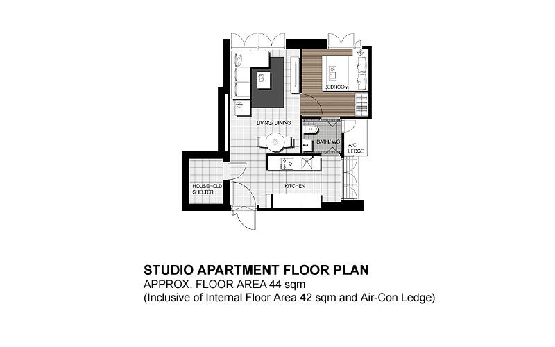 Floor Plans & Suggested Layouts for Dawson SkyTerrace