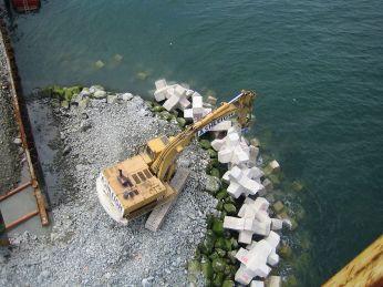 Eksempel på forstærkende placering ved Port Oriel