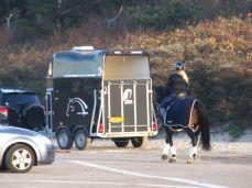 Jeg er fra en tid, hvor det var hestene, der transporterede bilerne og ikke omvendt