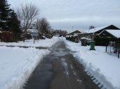 Smeltet sne bliver til is igen