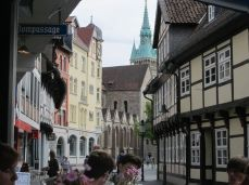 Burgplatz, et gade-view, cityscape