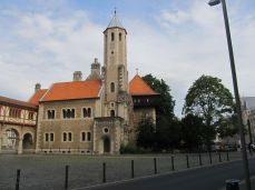 Braunschweig-Burg, de rige paladser er genopbygget efter krigen