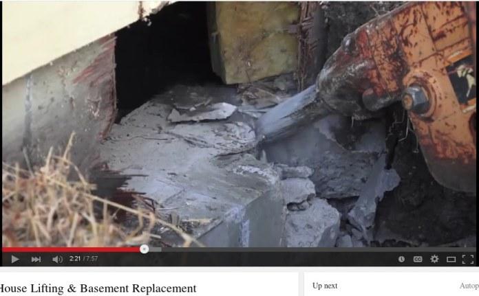 Her skabes hul til stålbjælker