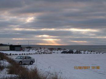 Himmelstråler fra en UFO ;-)