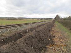 Lokalrådet har gjort indsigelse til kommunen vedr. banens manglende respekt for stien ...