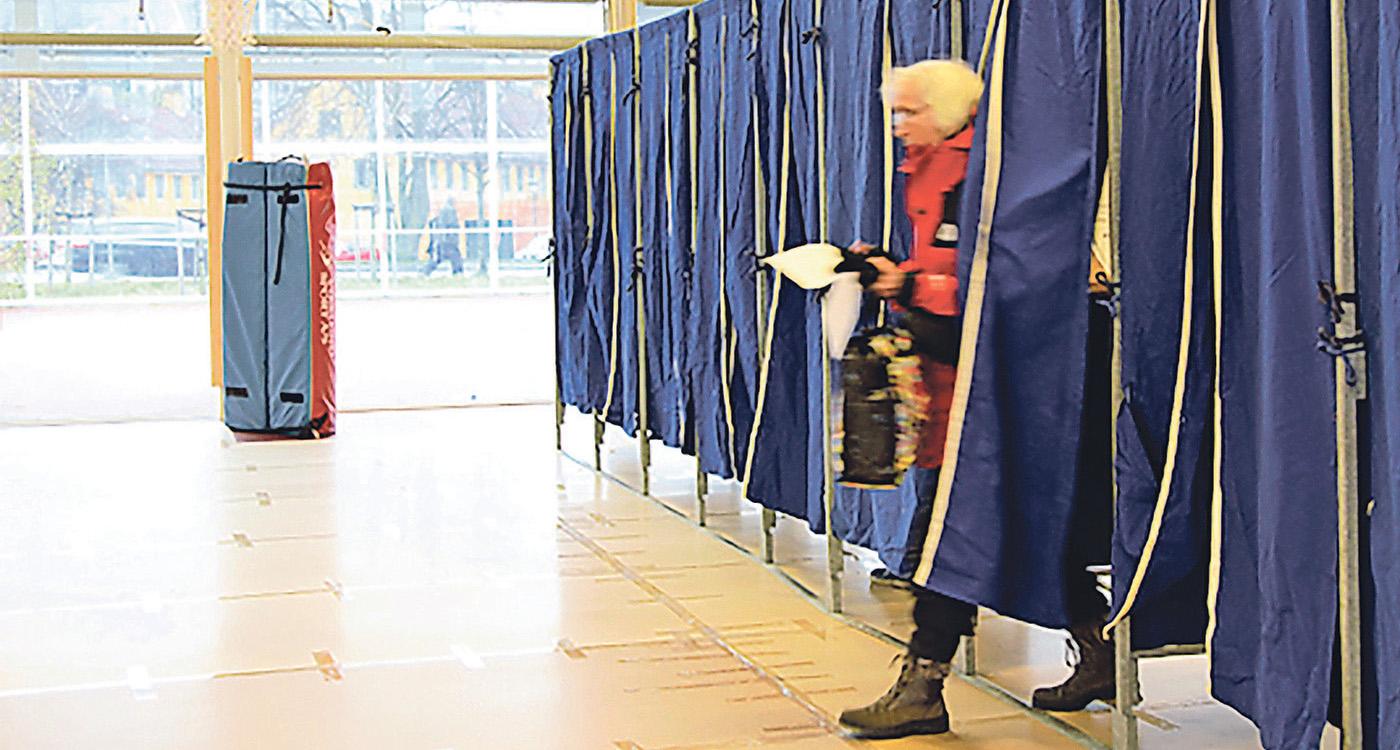 Et valg mellem EU og demokrati