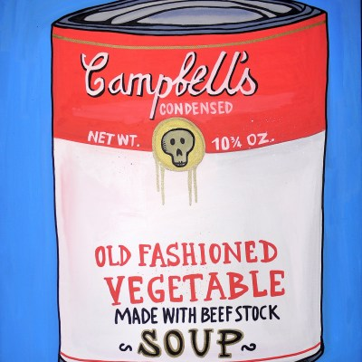 andy warhol art contemporain popart campbell's soup cans Tarek Ben Yakhlef