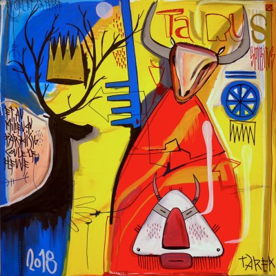 art contemporain oeuvre d'art de Tarek Ben Yakhlef