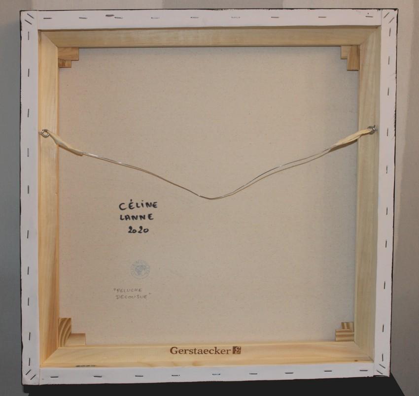 art contemporain céline lanne peinture contemporaine acheter de l'art en ligne tableau de peluche nounours