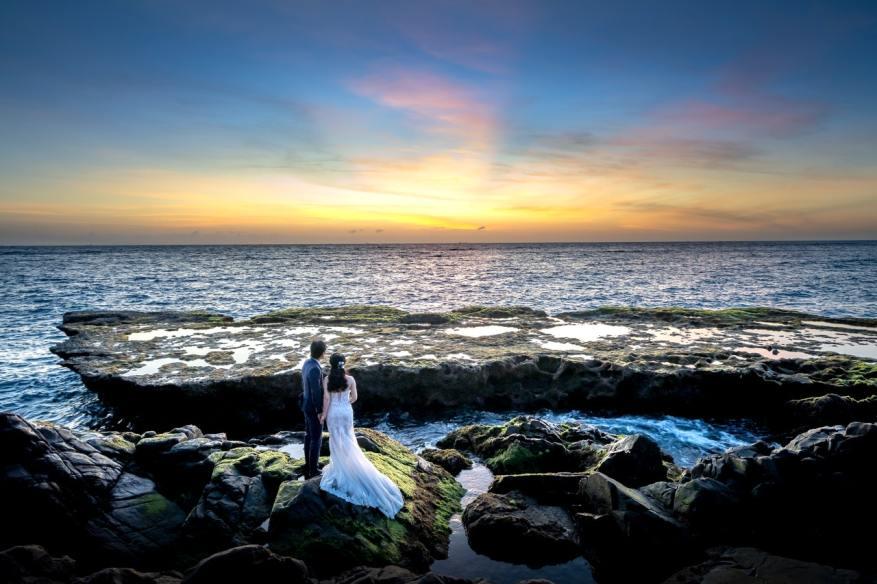 tips bisnis fotografi prewedding - pantai