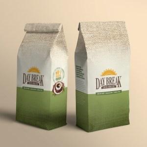 Daybreak Bag Mockup Standing Up Two Bags 1