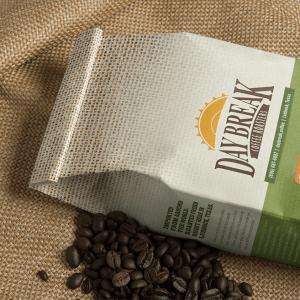 Pumpkin Latte coffee bag and beans