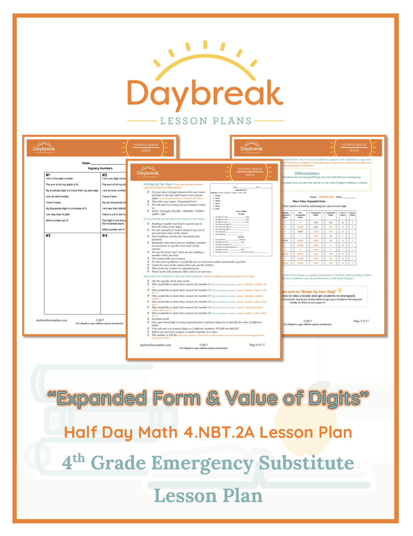 Place Value Expanded Form And Value Of Digits