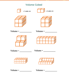 Unit Cubes Volume Worksheet   Printable Worksheets and Activities for  Teachers [ 1394 x 1080 Pixel ]