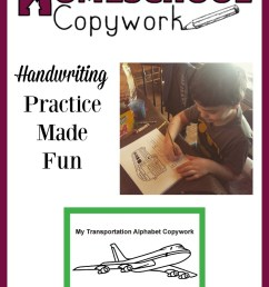 Fun Handwriting Worksheets for Your Child to Practice [ 1050 x 750 Pixel ]