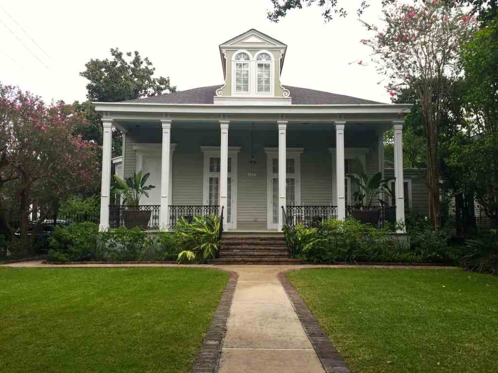House in New Orleans Garden District