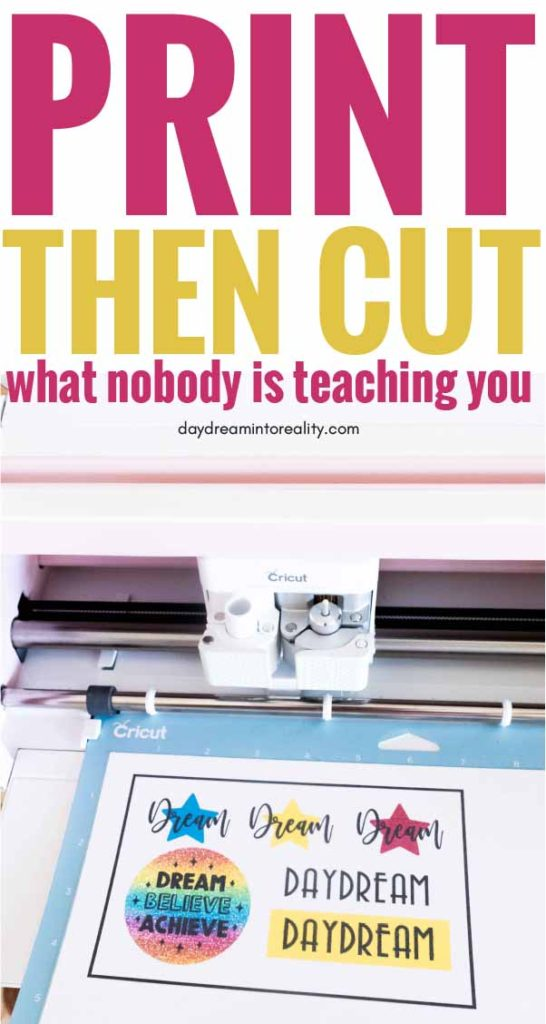 Cricut Print And Cut Size : cricut, print, Print, Cricut, Ultimate, Tutorial