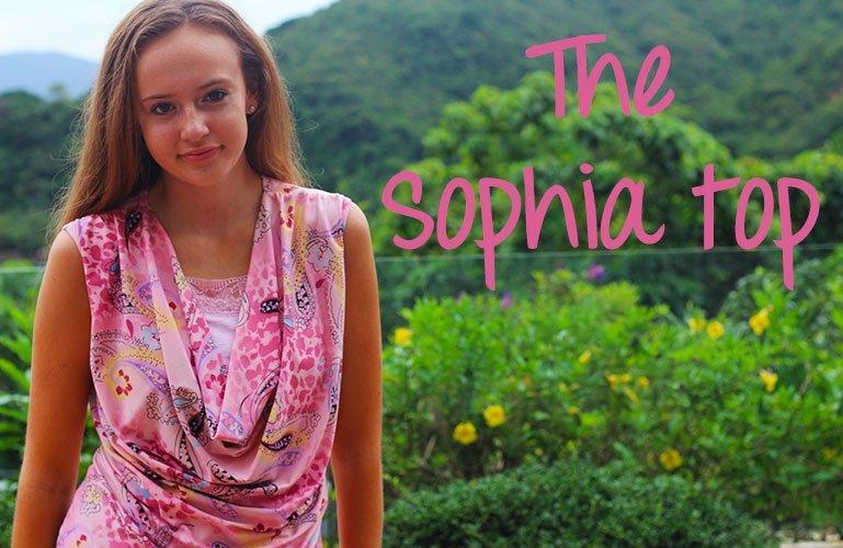 Sophia top