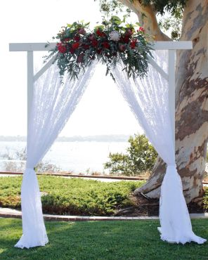 White Arbor $150 (Flowers not included)