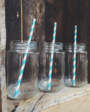 375ml Drinking jars $1.50 each